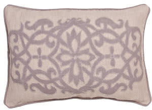 Jaipur Living Inspired By Jennifer Adams Pillow Jen02 Jai04 Creme Brulee