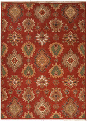 Rugstudio Sample Sale 75154R Navajo Red Area Rug