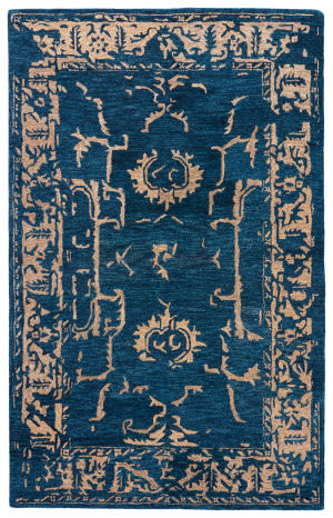 Jaipur Living Kilan Tarsus Kil08 Midnight Navy - Dark Slate Area Rug