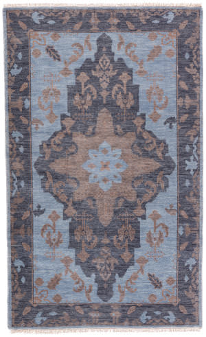 Jaipur Living Liberty Savona Lib03 Blue - Brown Area Rug