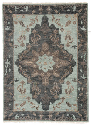 Jaipur Living Liberty Savona Lib09 Green - Dark Gray Area Rug