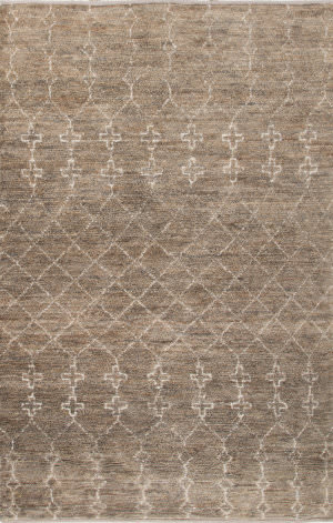 Jaipur Living Luxor By Nikki Chu Lapins Lnk04 Silver Mink Area Rug