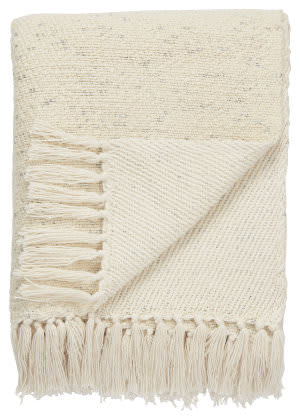 Jaipur Living Lovell Throw Lov-03 Lov05 Antique White - Silver Area Rug