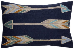 Jaipur Living En Casa By Luli Sanchez Pillow Encasa14 Lsc38 Blue Indigo