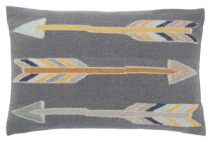 Jaipur Living En Casa By Luli Sanchez Pillow Artemas Lsc39 Gray - Yellow Area Rug
