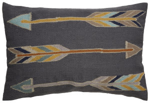 Jaipur Living En Casa By Luli Sanchez Pillow Encasa14 Lsc39 Pewter