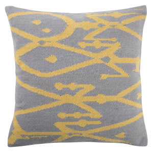 Jaipur Living En Casa By Luli Sanchez Pillow Mirja Lsc41 Gray - Yellow Area Rug
