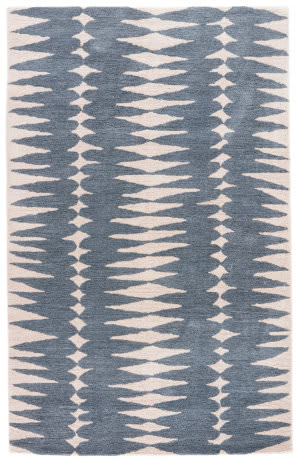 Custom Jaipur Living En Casa By Luli Sanchez Tufted Tear Drops Lst27 Ensign Blue - Bijou Blue Area Rug