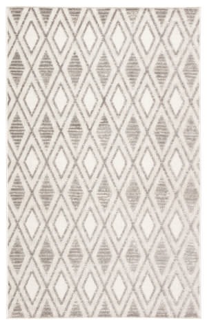 Jaipur Living Lumen Meira Lum01 Gray - White Area Rug