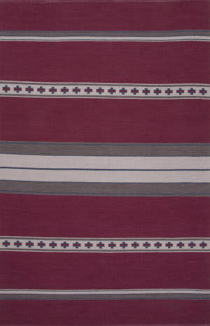 Jaipur Living Traditions Made Modern Cotton Flat Weave Cuzco Mcf01 Cordovan - Ensign Blue Area Rug