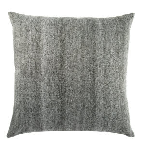 Jaipur Living Mercado Pillow Scandi Mco06 Dark Gray - White