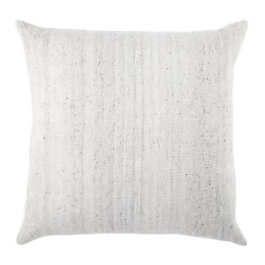 Jaipur Living Mercado Pillow Scandi Mco07 Light Gray - White
