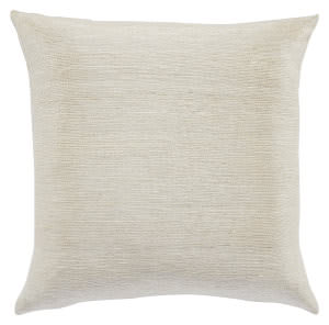Jaipur Living Mandarina Pillow Metal-03 Mdr14 Light Gray - Silver