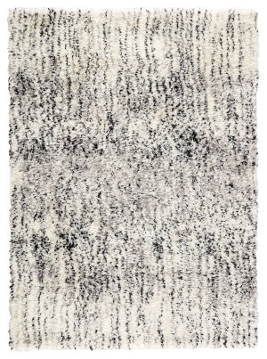 Jaipur Living Minka Machi Mka02 White - Black Area Rug