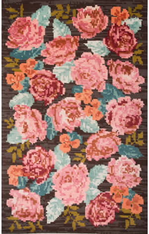 Jaipur Living Murray By Kate Spade New York Needlepoint Rose Mkn03 Pink Multi Area Rug