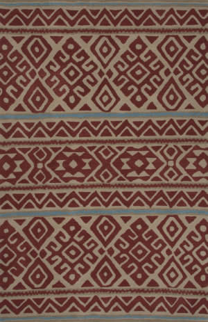 Jaipur Living Traditions Made Modern Tufted Nora Mmt15 Rosewood - Cement Area Rug