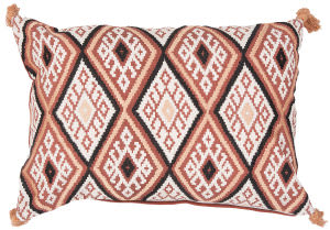 Jaipur Living Traditions Made Modern Pillow Max03 Mnp15 Red Ochre