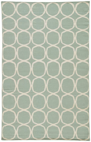 Jaipur Living Maroc MR01 Aqua Foam - White Sand Area Rug