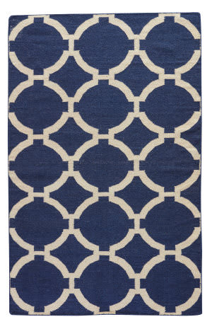 Jaipur Living Maroc Rafi Mr44 Medieval Blue - Turtledove Area Rug