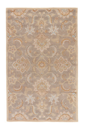 Custom Jaipur Living Mythos Abers My14 Flint Gray - Putty Area Rug
