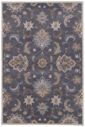 Jaipur Living Mythos Abers My20 Dark Blue - Tan Area Rug