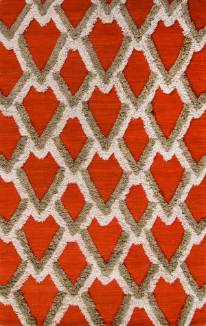 Jaipur Living National Geographic Home Collection Loras Nfp03 Apricot Orange - Pumice Stone Area Rug