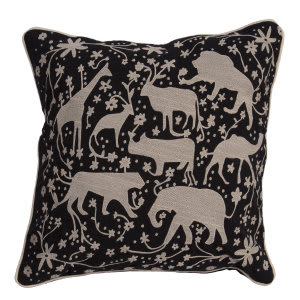 Jaipur Living National Geographic Home Collection Pillow Ng-13 Ngp26 Jet Black