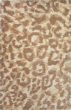 Jaipur Living National Geographic Home Collection Tufted Ocelot Ngt04 Oatmeal - Aluminum Area Rug
