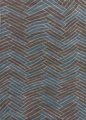 Jaipur Living National Geographic Home Collection Moray Ngt19 Sand Shell and Walnut Area Rug
