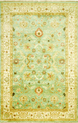 Jaipur Living Notting Hill Bexley Nh01 Blue Surf - Snow White Area Rug