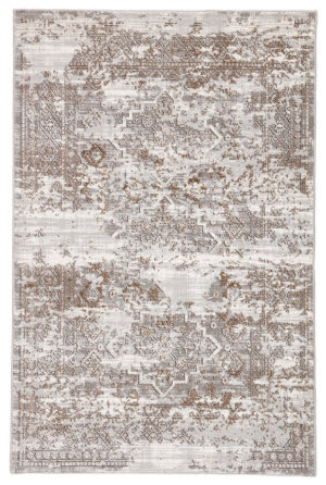 Jaipur Living Nashua Pinneo Nsh08 Light Gray - Tan Area Rug