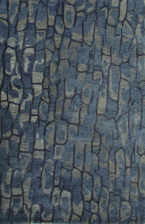 Jaipur Living National Geographic Home Collection Protozoa Ntp08 Blue Shadow - Dark Denim Area Rug