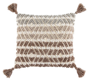 Jaipur Living Omni Pillow By Nikki Chu Agave Omn04 Gray - Brown