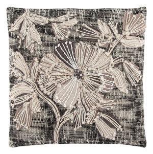 Jaipur Living Omni Pillow By Nikki Chu Rosetti Omn07 Black - Gray