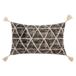 Jaipur Living Omni Pillow By Nikki Chu Cordele Omn09 Black - Cream
