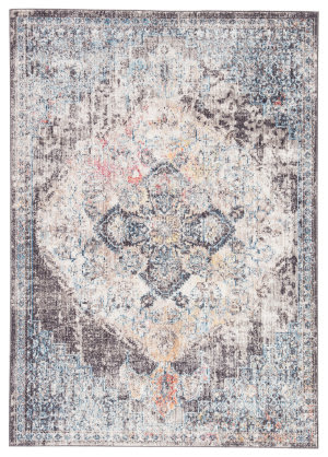 Jaipur Living Ostara Brash Ost07 Black - Blue Area Rug