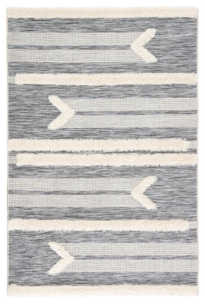 Jaipur Living Parades Hanai Pad03 Gray - Cream Area Rug