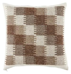 Jaipur Living Peykan Pillow Terzan Pey09 Turtledove - Chocolate Chip
