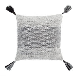 Jaipur Living Peykan Pillow Holyn Pey11 Gray - White