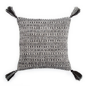 Jaipur Living Peykan Pillow Cerise Pey12 Black - Gray