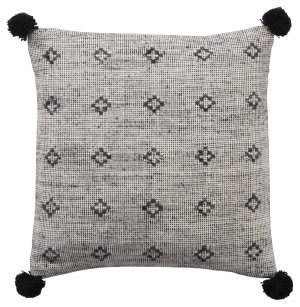 Jaipur Living Peykan Pillow Berlynn Pey14 Gray - Black