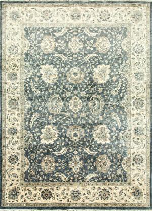Jaipur Living Aileua Pkpv-52 Creamy White - Indigo Blue Area Rug