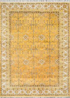 Jaipur Living One Of A Kind Pkwl-2103 Saffron - White Area Rug