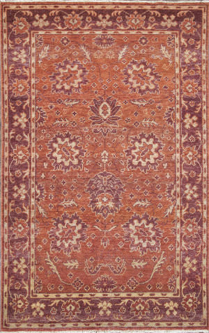 Jaipur Living One Of A Kind Pkwl-410 Red Orange - Deep Red Area Rug