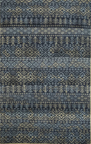 Jaipur Living One Of A Kind Pkwl-422 Indigo Blue - Silver Area Rug