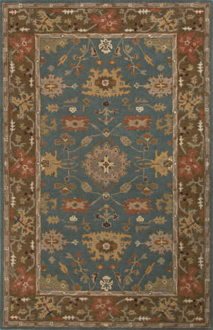 Jaipur Living Poeme Maxine Pm102 Teal Blue Area Rug