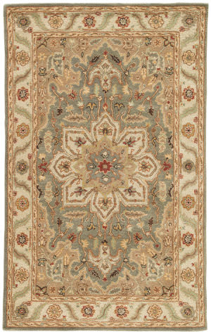 Jaipur Living Poeme Orleans Pm145 Beetle and Spray Green Area Rug