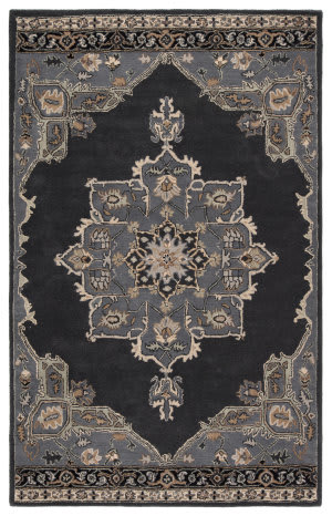Jaipur Living Poeme Helda Pm146 Ebony - Castle Rock Area Rug