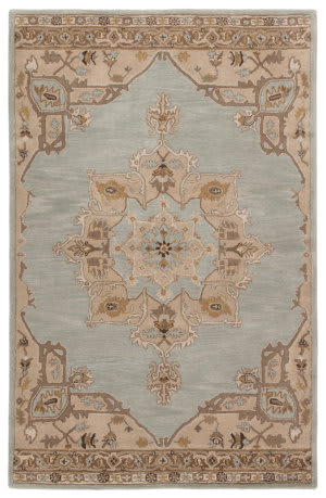 Custom Jaipur Living Poeme Helda Pm147 Mineral Gray - Nomad Area Rug