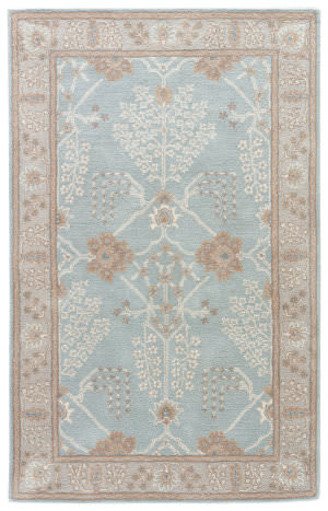 Jaipur Living Poeme Chambery Pm151 Aqua Gray - Turtledove Area Rug